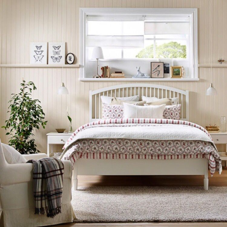 Ikea Tyssedal Bedroom Wohnung Einrichten Bettgestell Ikea Schlafzimmer