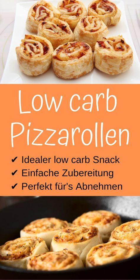 Rotoli di pizza a basso contenuto di carboidrati – eroe della vita