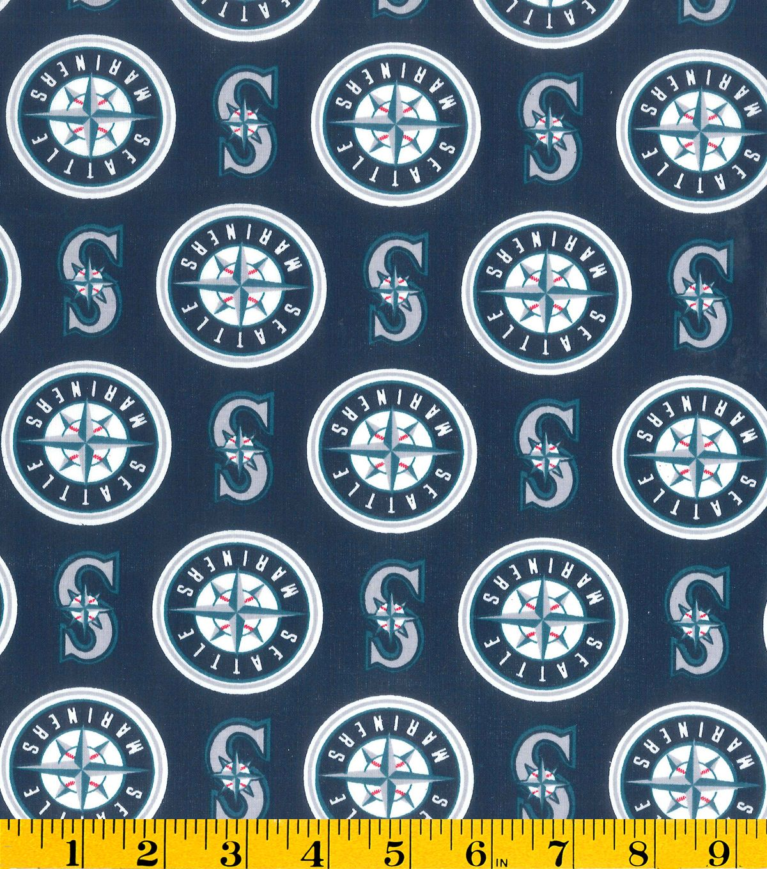 Seattle Mariners MLB Cotton Fabric