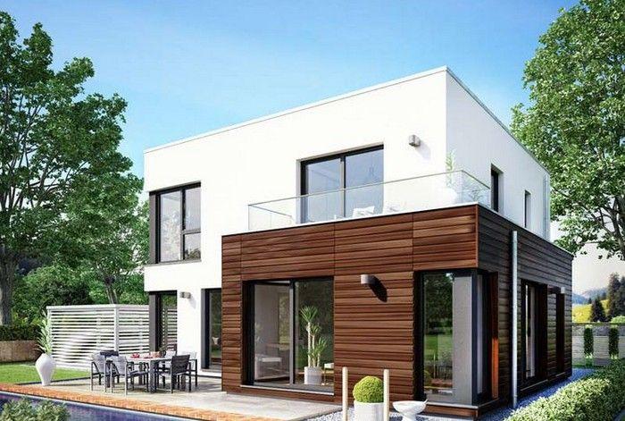 Cube 143 PREFABRICATED - немецкая технология домостроения от DAS - plan maison structure metallique