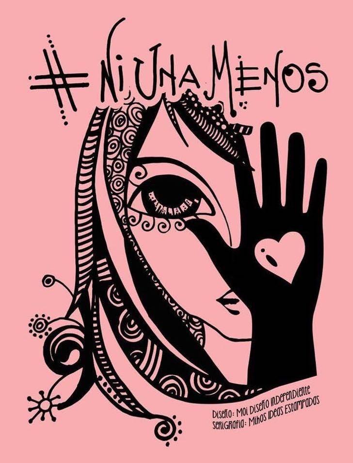 Hay una poderosa razón por la que la imagen de #NiUnaMenos se ha vuelto viral