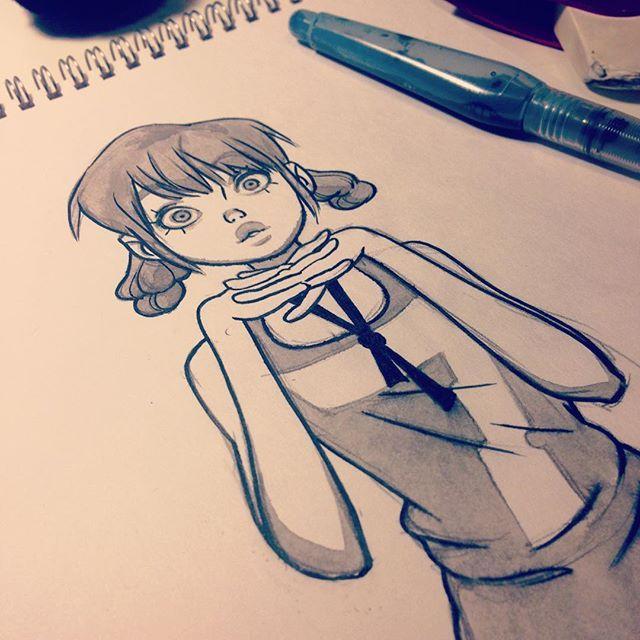 Character Design Instagram : Anna cattish inktober под instagram