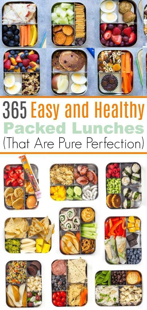 365 Healthy Lunch Ideas (One for Every Day of the Year!) images