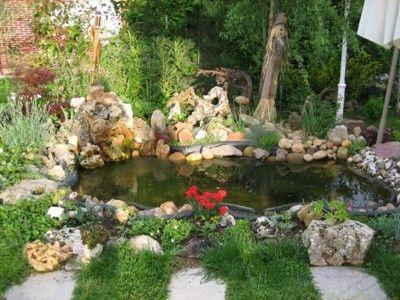 Dise o de jardines estanques acu ticos jardiner a for Estanque koi pequeno
