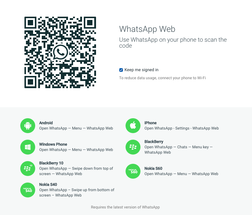 Whatsapp For Desktop Is Now Available For Iphone Users Messaging App Web Browser Coding
