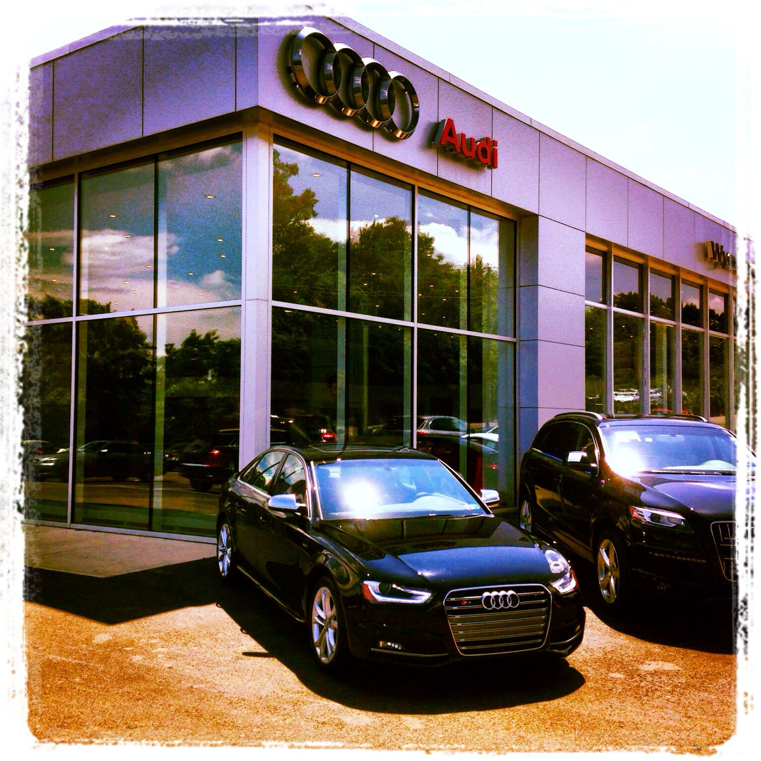 Audi at Wyoming valley motors in larksville, pa | The AFS Collection