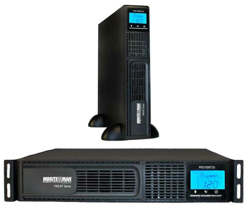 Minuteman Ups Line Interactive 1000va 700 Watts Ups Pro1000rt2u 784755154941 Ebay Interactive Ebay Ups