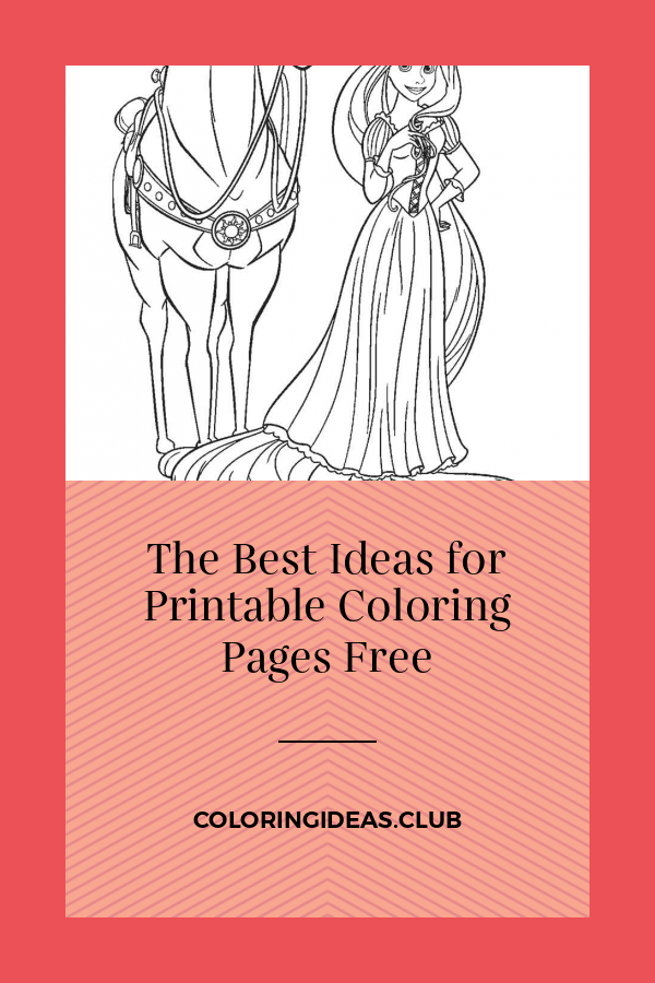 The Best Ideas for Printable Coloring Pages Free