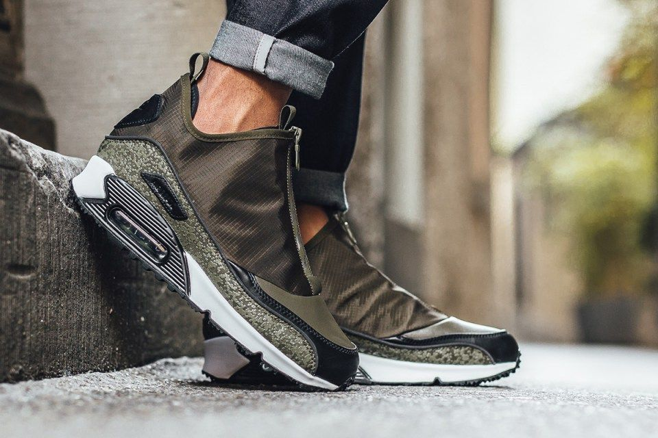 2cdf05ba5a Nike Dresses the Air Max 90 Utility in Olive Hues | Fresh Sneakers ...