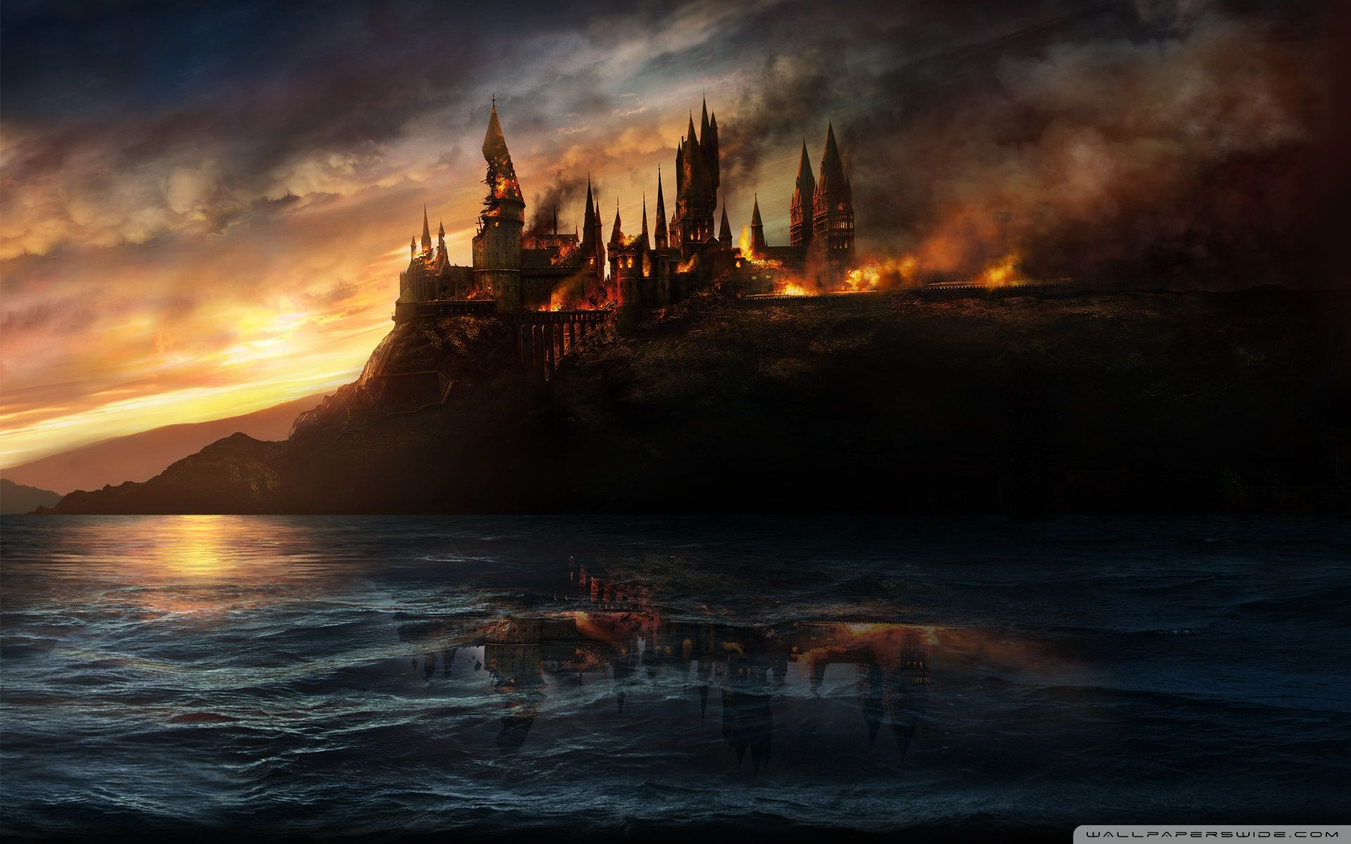 Wallpaperswide Com Harry Potter Hd Desktop Wallpapers For Harry Potter Background Harry Potter Wallpaper Hogwarts Castle