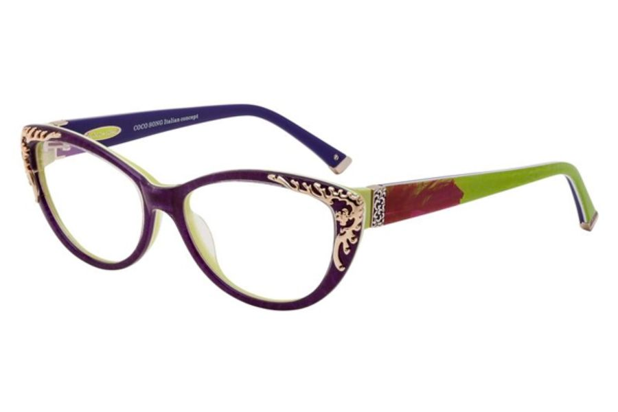 Coco Song Golden Phoenix Eyeglasses | Beauty tips | Pinterest ...