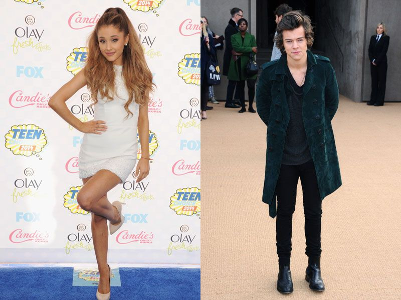 Is ariana grande dating harry styles