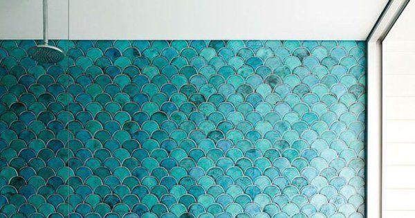 Quel rev tement murs et sols pour une douche italienne - Quel couleur pour une salle de bain ...