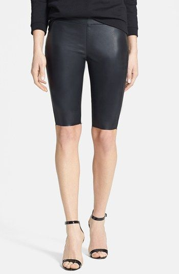 BLANKNYC Faux Leather Shorts available at #Nordstrom