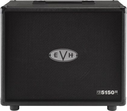 EVH Eddie Van Halen 5150 III MX 1x12 Guitar Speaker Cabinet: A perfect companion for the EVH 5150 III MX head, this cab comes stocked with a Celestion Heritage speaker.