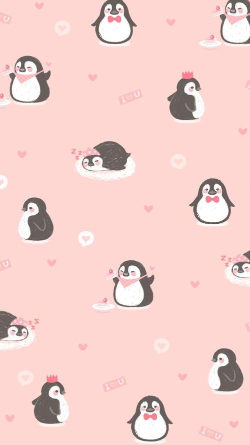 Cellphone Wallpapers Penguin Wallpaper Cellphone Wallpaper Cute Cartoon Wallpapers