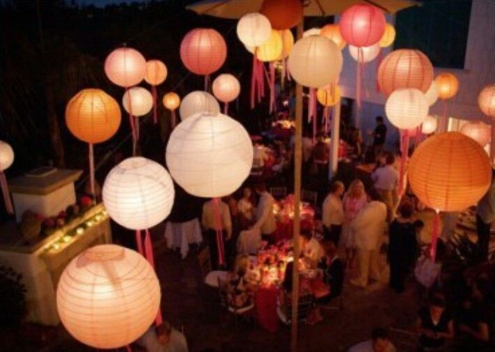 Pin by sarah p on party ideas pinterest chinese lanterns wedding decoration chinese lanterns with streamers junglespirit Image collections