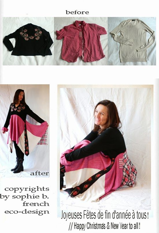 by sophie b. l'éco-design à la française: XOXO from sophie b.  welcome to junky styling for clothes !