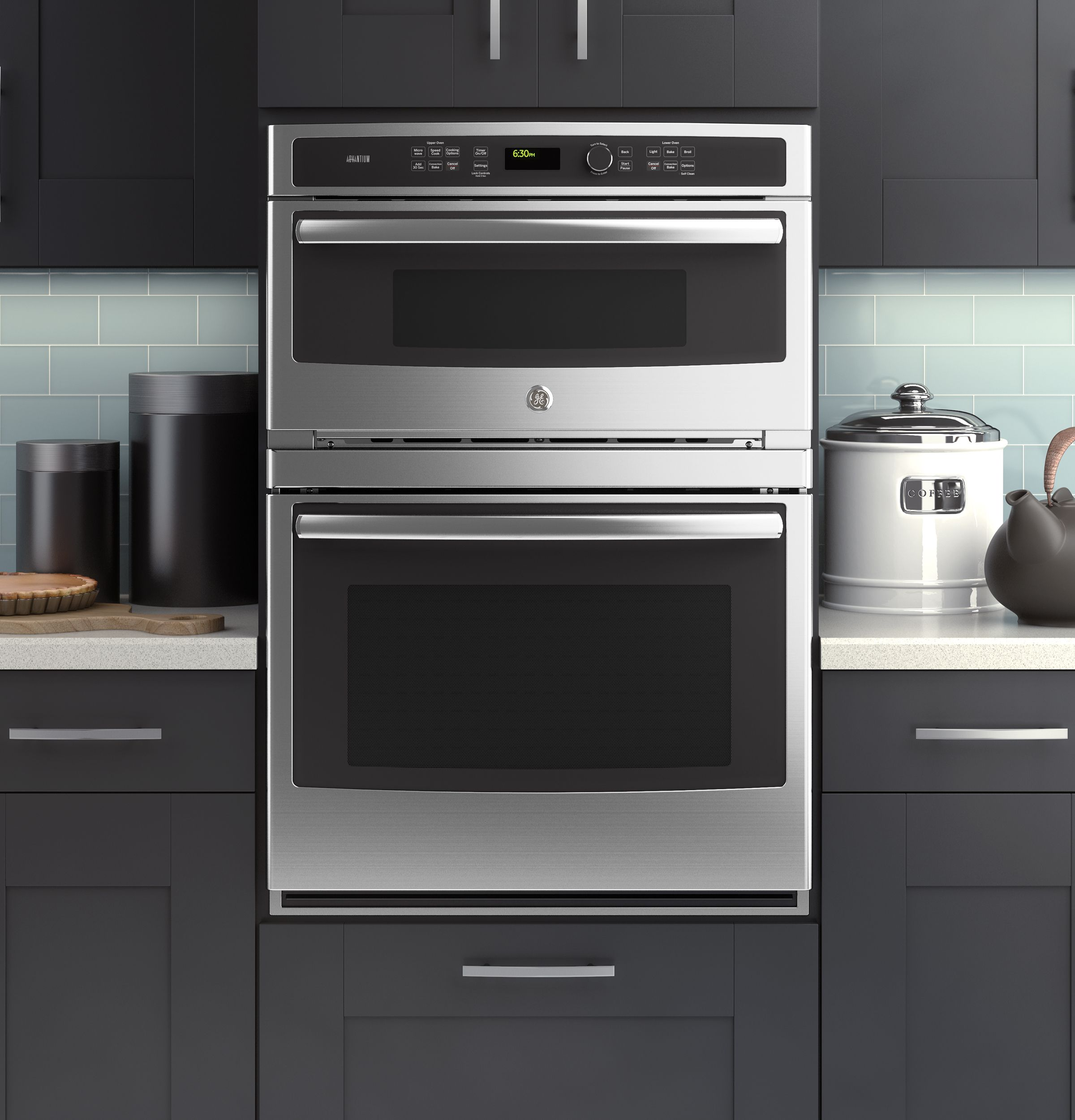 Built In Combination Convection Microwave Oven