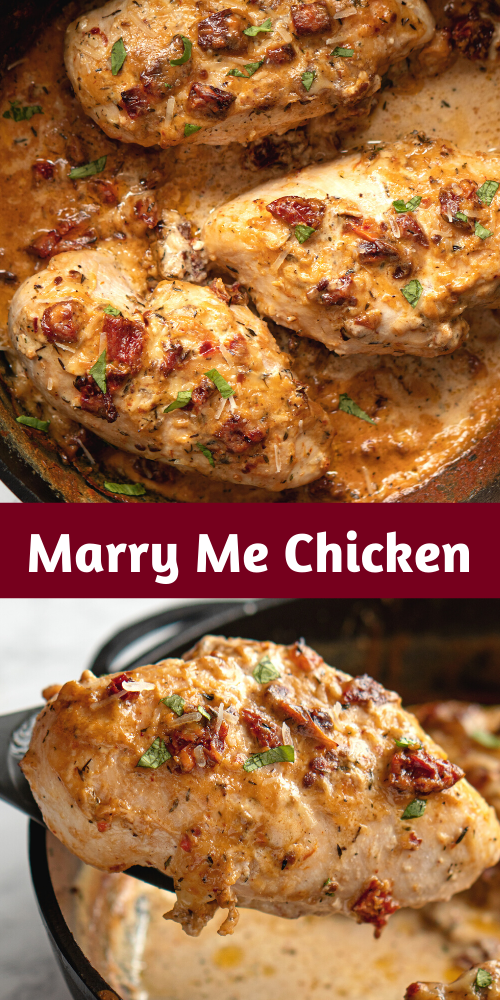 Marry Me Chicken Marry Me Chicken Recipe Unique Chicken Recipes Chicken Dinner Recipes