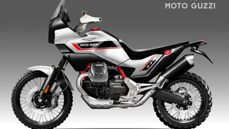 Moto Guzzi V90 Ttr Concept Adventure Rider In 2020 Moto Guzzi Motorcycle Design Adventure Motorcycling