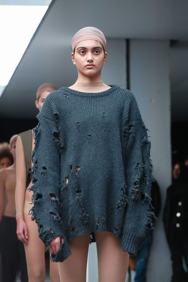 save off 8baa1 be6fb Kanye West X Adidas Ready To Wear Fall Winter 2015 New York.