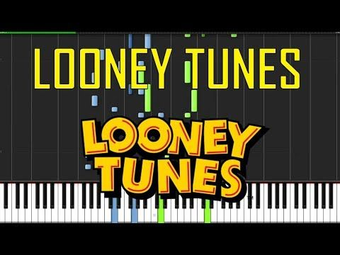 Looney Tunes Theme Piano Tutorial Chords How To Play Cover