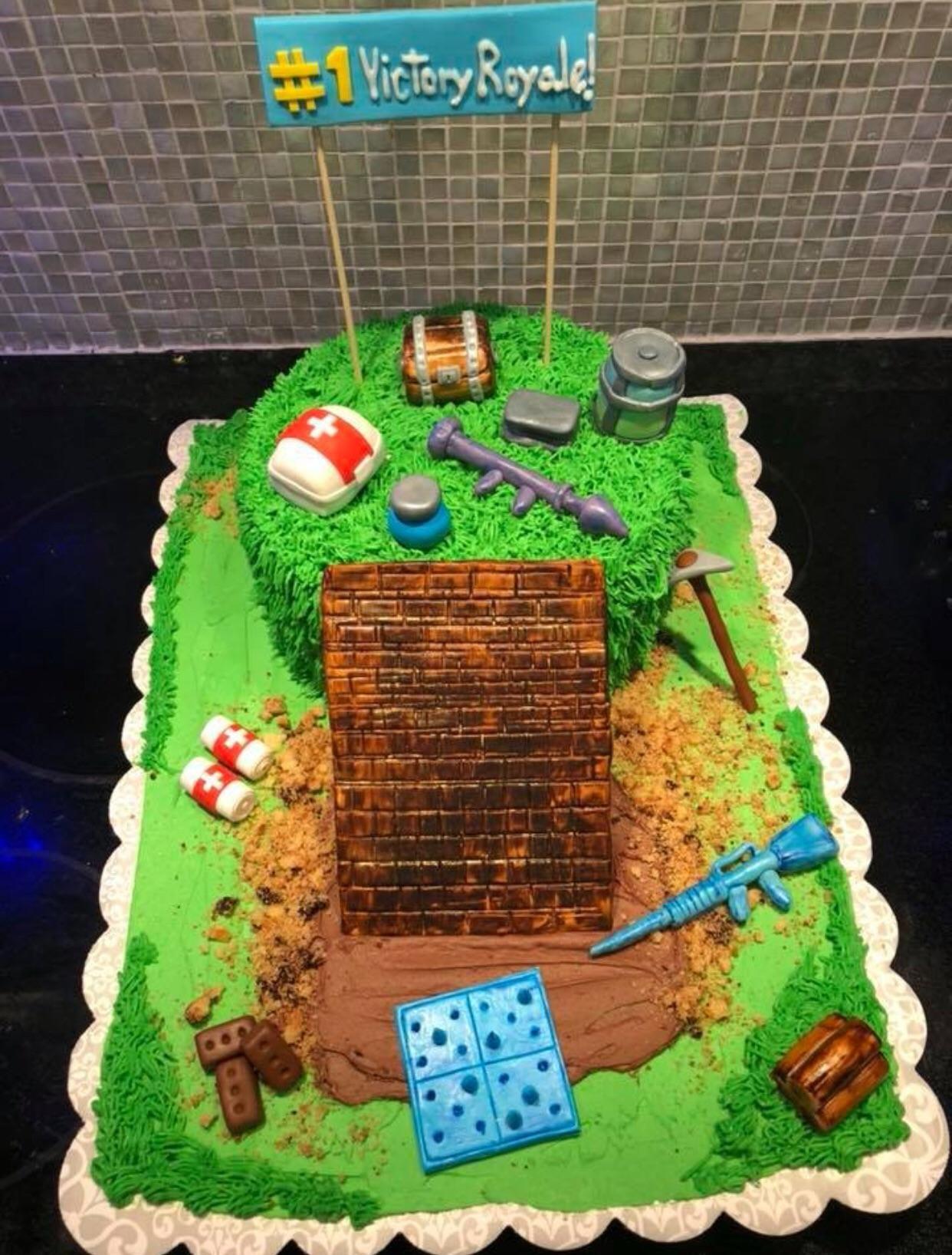 Fortnite Birthday Cake Map