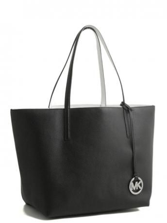 Michael Kors-black and white double face bag-borsa double face banca e nera 3ee2b8233af