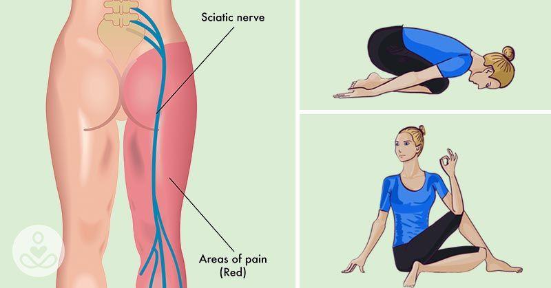8 Easy Yoga Poses To Help Relieve Sciatica And Lower Back Pain In 30 Minutes Rutina Dolor De Ciatica Ciatica Tratamiento Y Ciatica Sintomas
