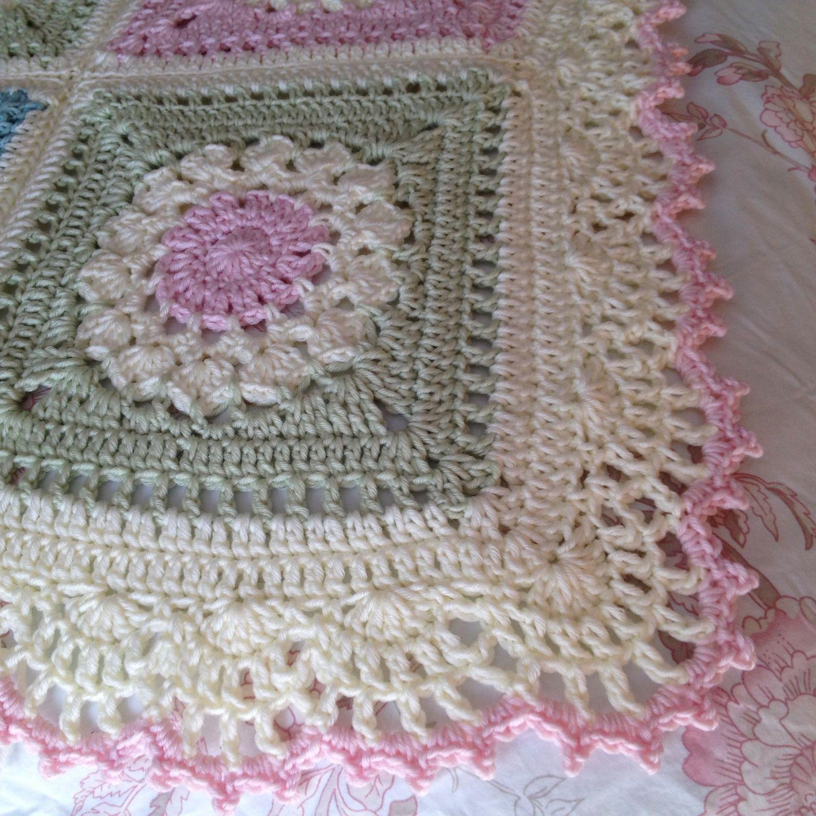 Gran manta de la cama de AnnabelsArmoire Annabel: Ravelry