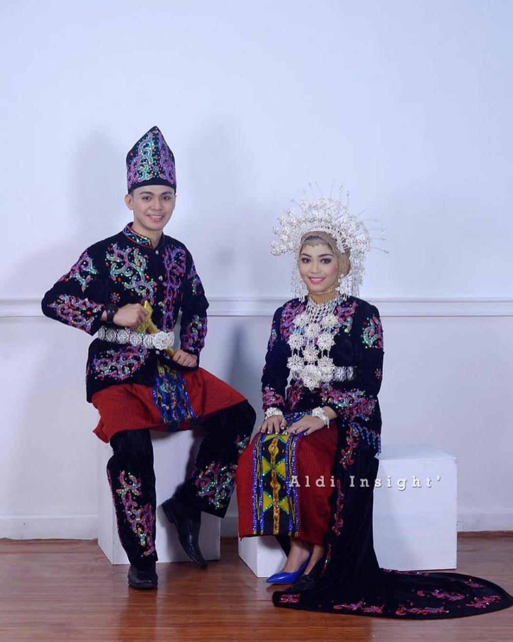 Pakaian Adat Pengantin Sulawesi Tengah