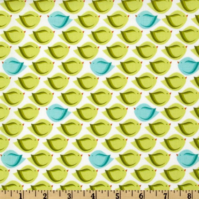 cute citron/turquoise fabric - would be so cute in a quilt. | Quilts ...