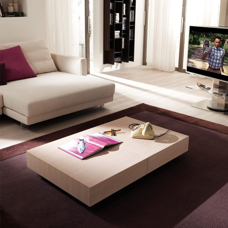 The Magnum Is A Transforming Coffee Table That Fully