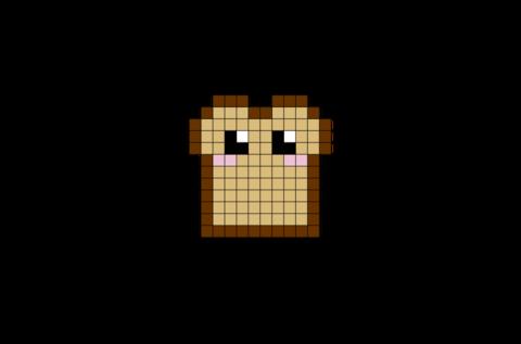 Toast Pixel Art