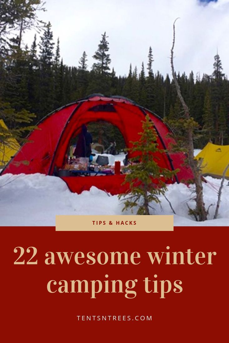 Photo of These are the best winter camping tips that you'll find online. Check them out a…