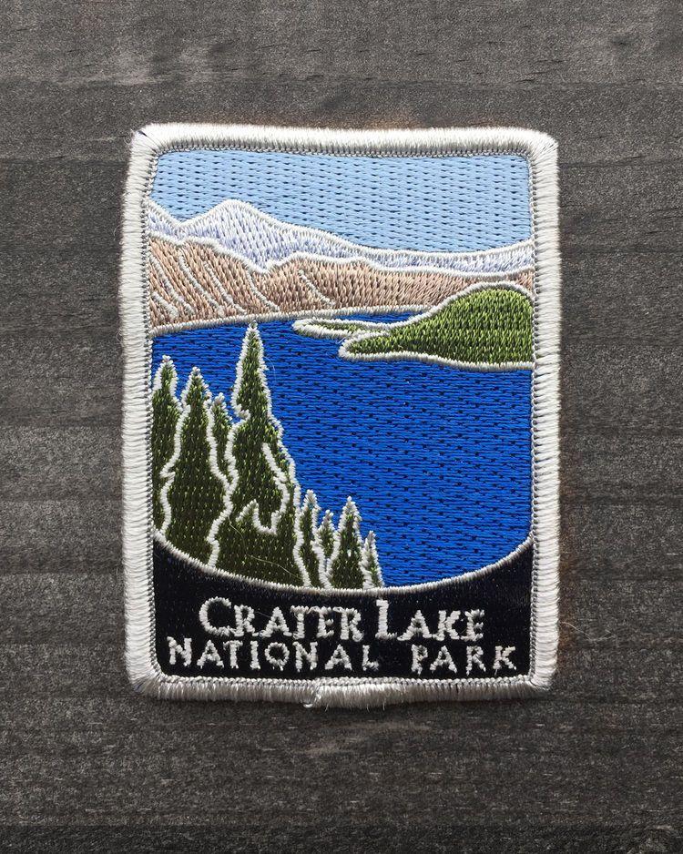 Details about Crater Lake National Park Souvenir Patch