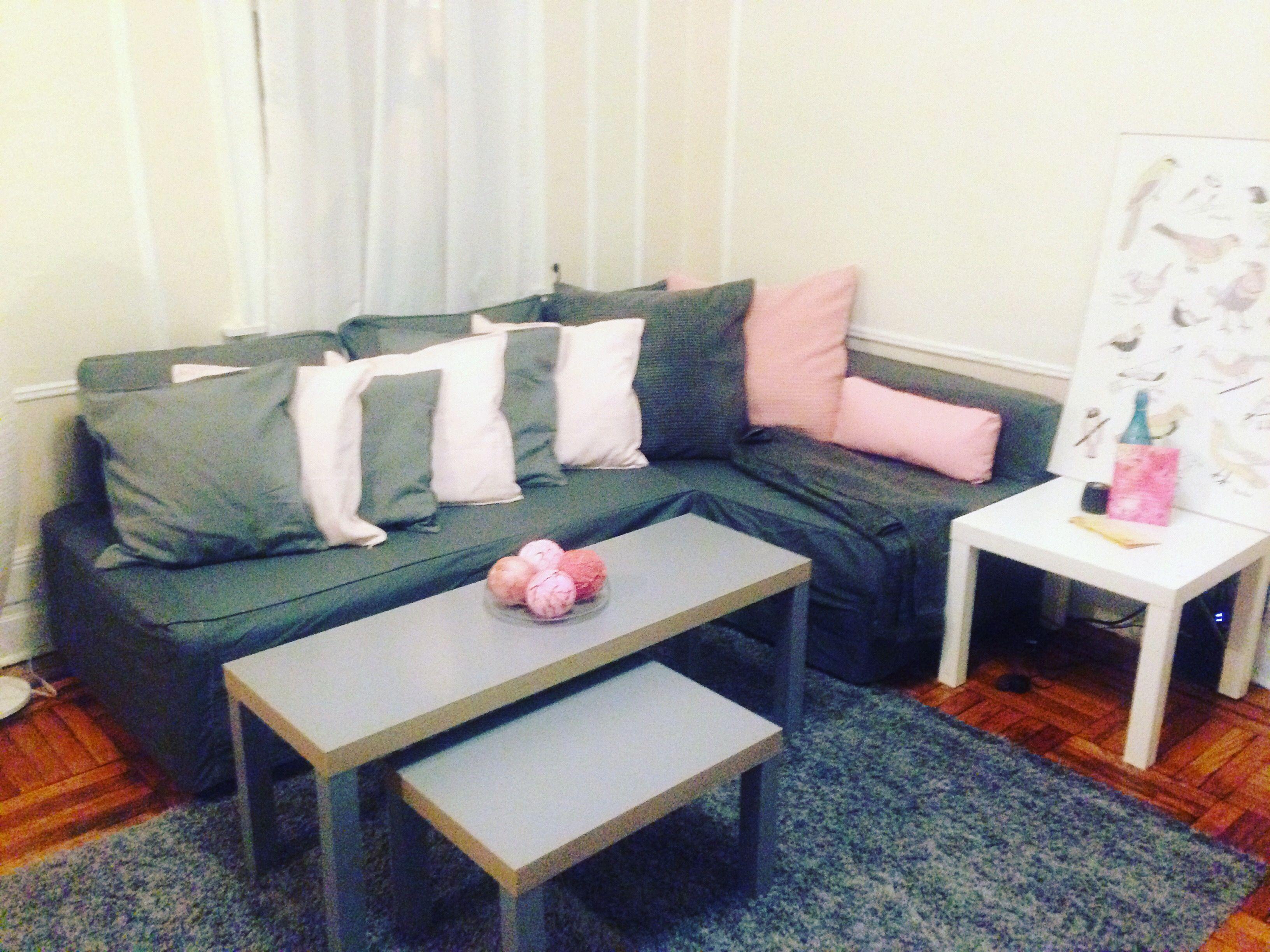 Ikea Friheten Sectional Sofa And Pillows Home Decor Ikea