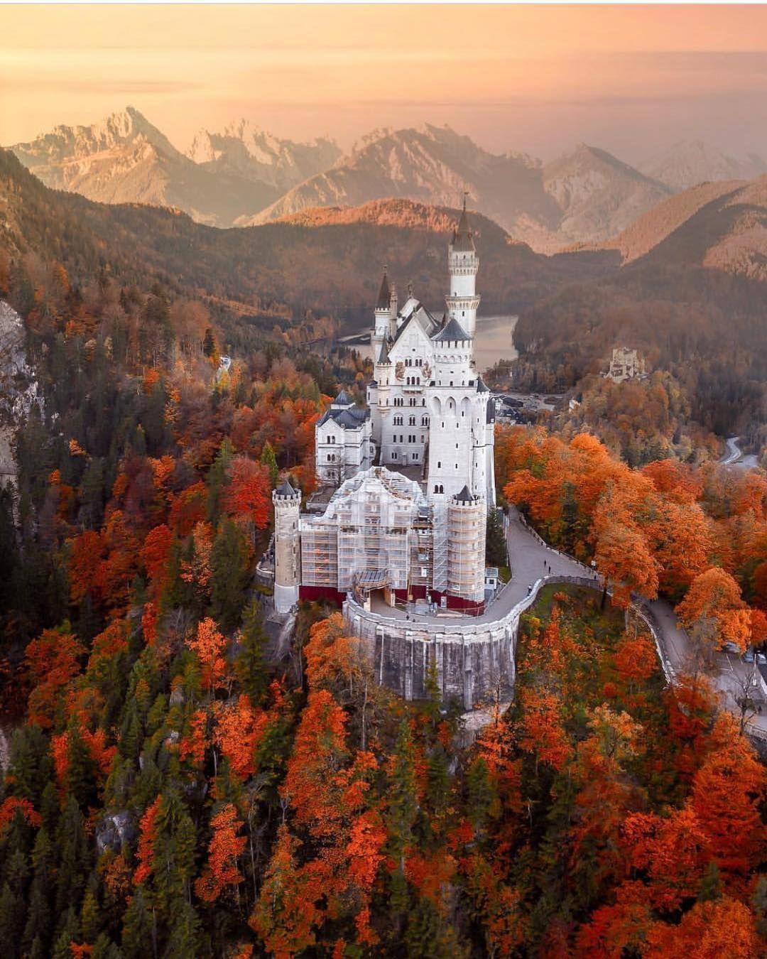 Neuschwanstein Castle Bavaria Germany Credit To Sennarelax Tag Beautifulrawworld To Be Featured Mit Bildern Neuschwanstein Schloss Neuschwanstein