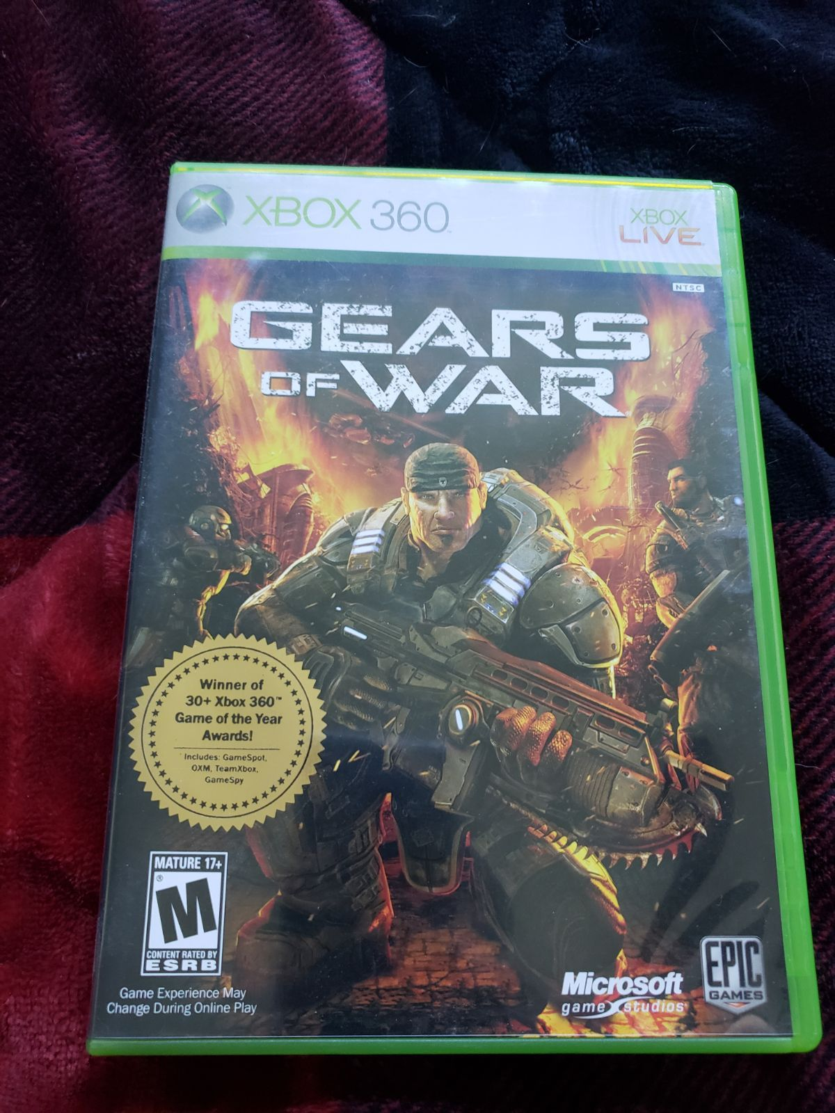 Xbox 360 Gears Of War Game Good Condition Xbox Xbox 360 Games Xbox 360