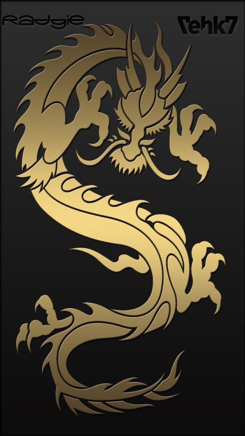 Free Golden Dragon Mobile Wallpaper By Radgie On Tehkseven