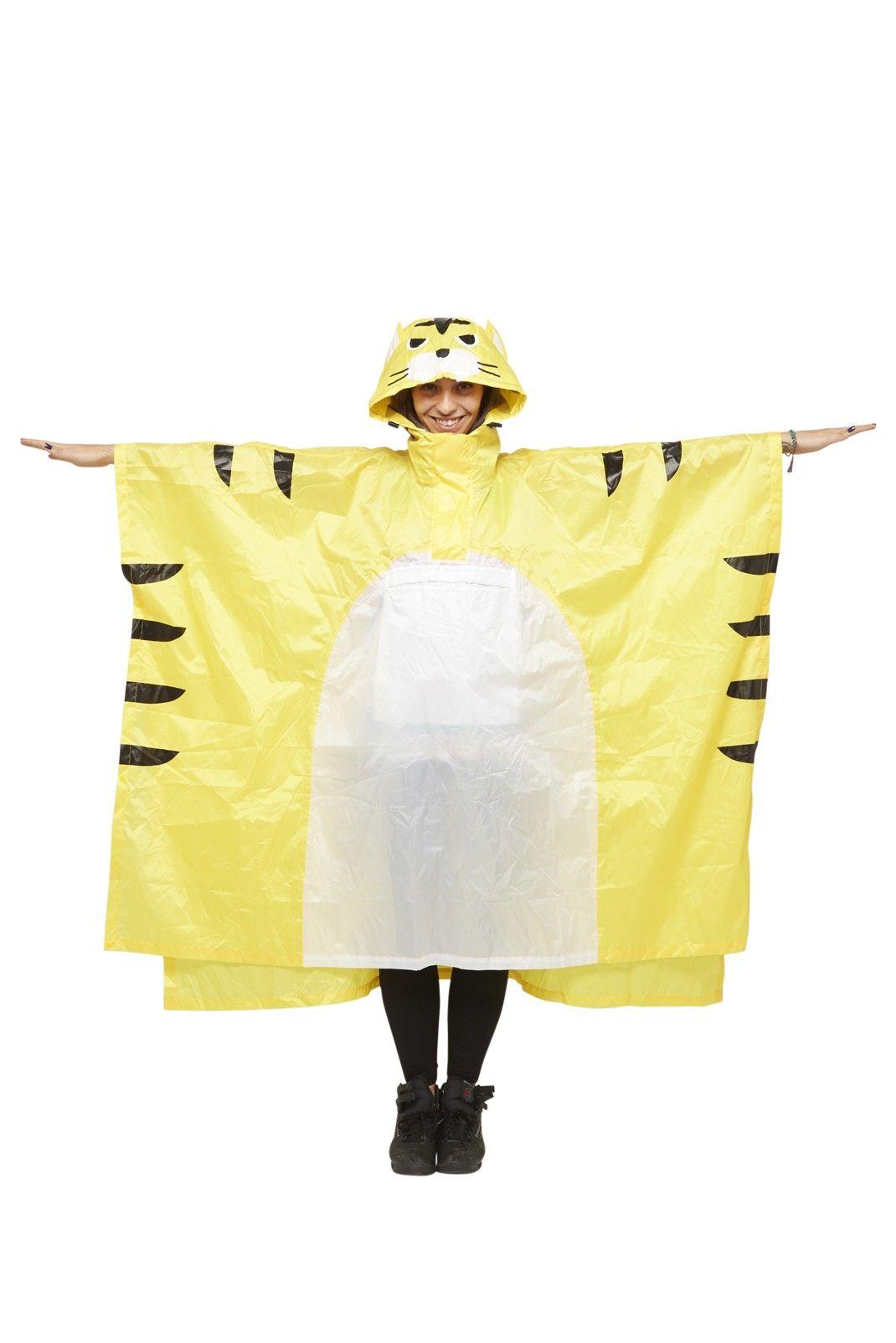 Tiger Rain Poncho