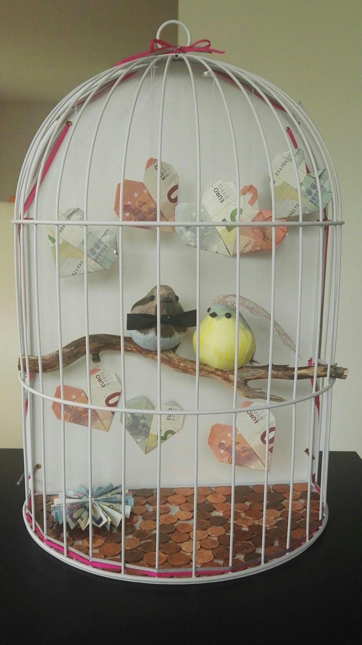 hochzeitsgeschenk geldgeschenk vogelk fig hochzeit pinterest hochzeitsgeschenke. Black Bedroom Furniture Sets. Home Design Ideas