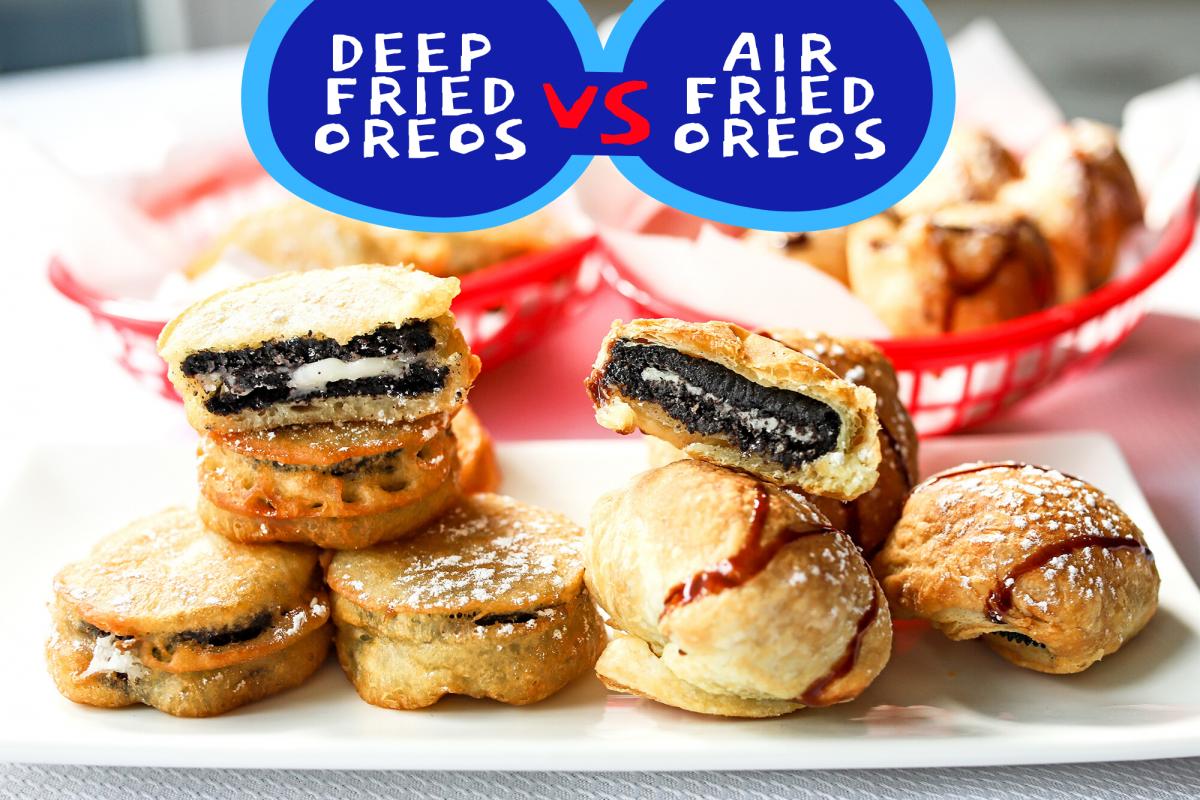 Deep Fried Oreos Recipe Fried oreos, Oreo, Deep fried