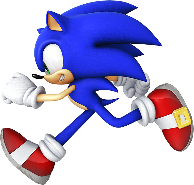 Sonic The Hedgehog Sonic The Hedgehog Sonic The Hedgehog Running Sonic