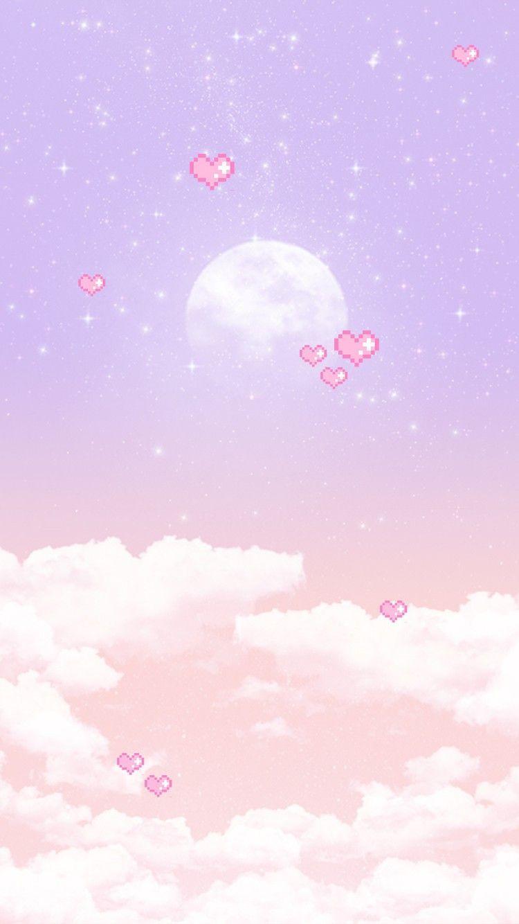 Youngrong Fuldmane Baggrund Naver Blog Cute Pastel Wallpaper Kawaii Background Iphone Wallpaper Kawaii