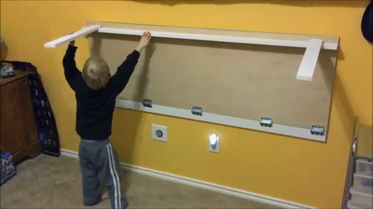 Lego Table Folds Against The Wall Lego Table Lego Table Diy Wall Mounted Folding Table