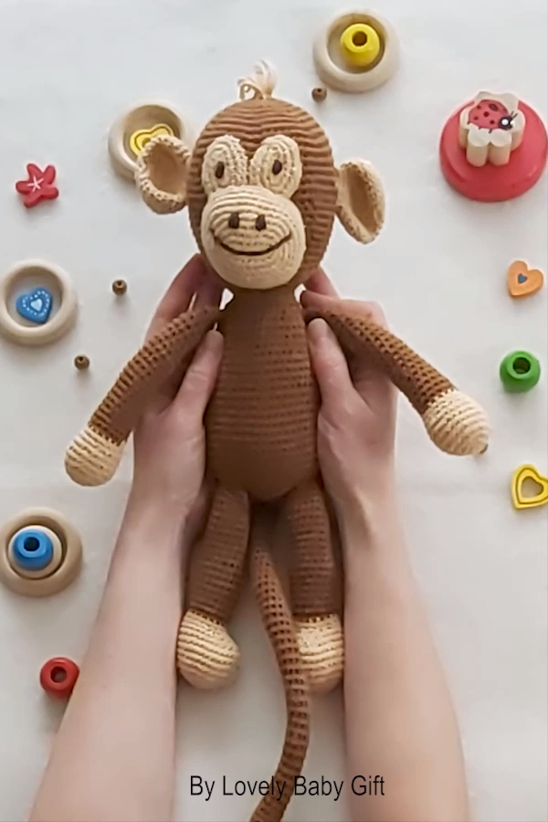 Photo of Crochet Monkey Pattern Amigurumi
