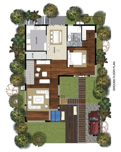 Duplex Floor Plans Indian Duplex House Design