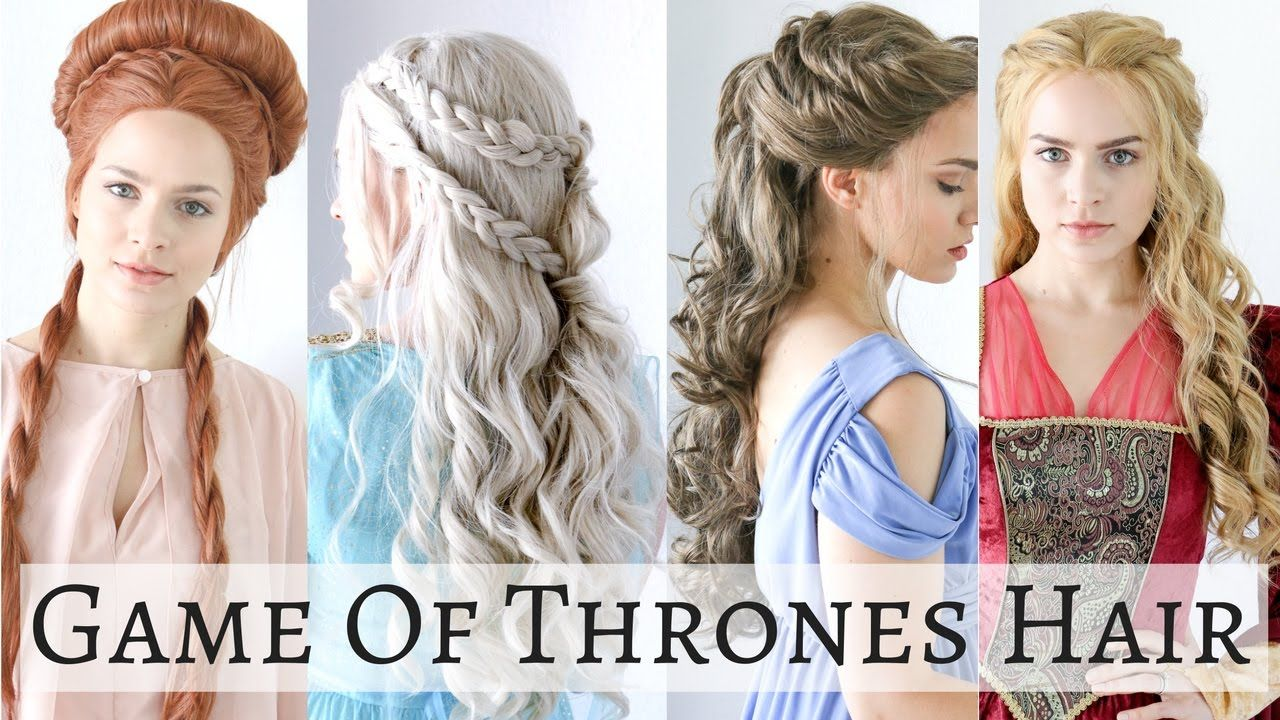 Hairstyles Games New Happy Halloween Here's A Hair Tutorial On 4 Iconic Game Of Thrones